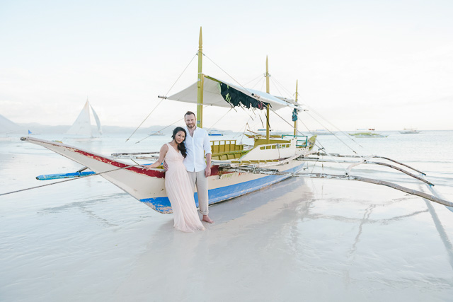Steve and Nahui - Boracay Prenup and Family