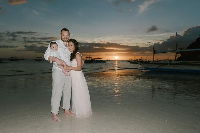 Steve and Nahui - Boracay Prenup and Family