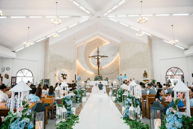 Iloilo church wedding